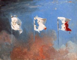 Leon Cogniet - Les Drapeux