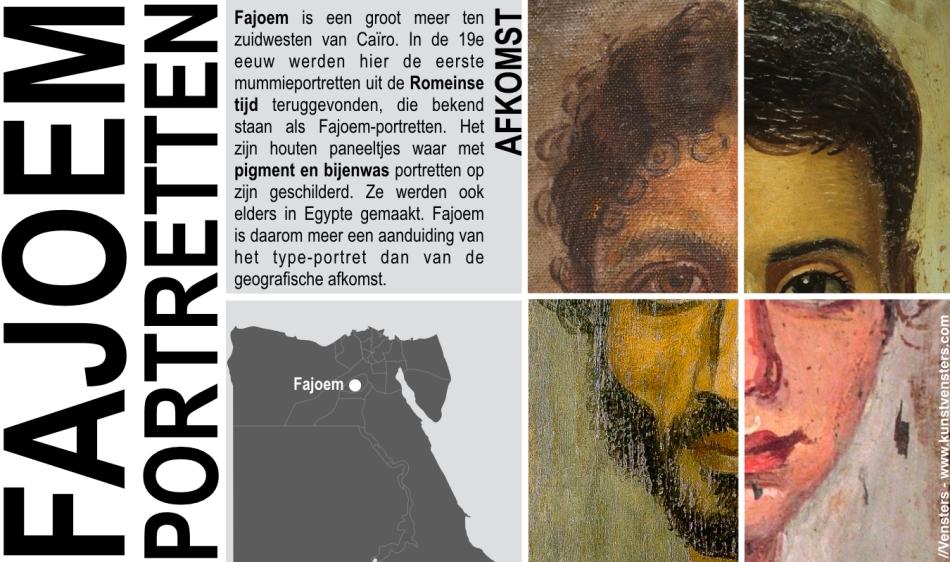 Fajoem - Fayoem - Fayoum Portretten