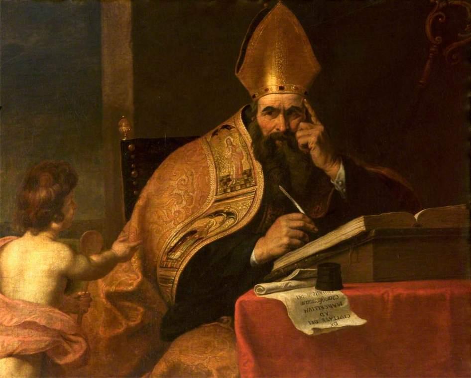 Gerard Seghers - Sint Augustinus