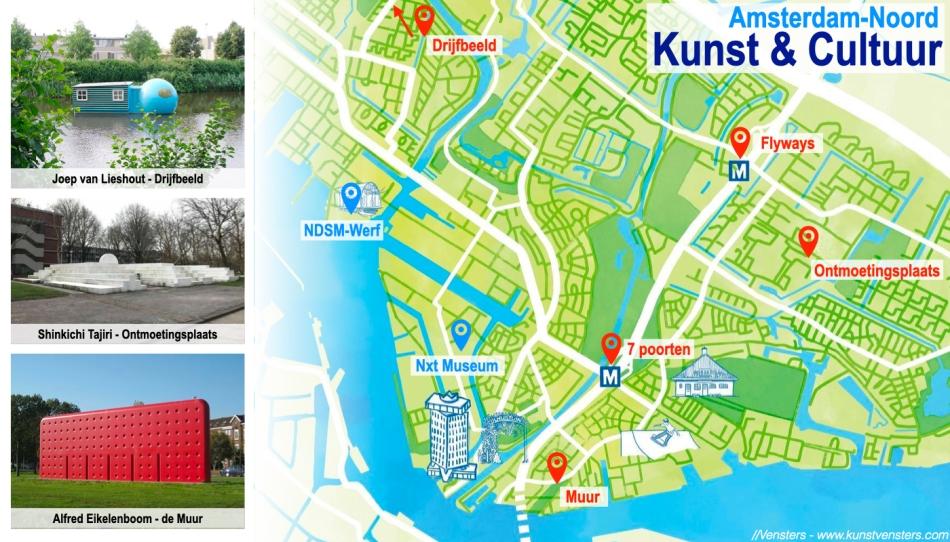 Kunst Amsterdam Noord