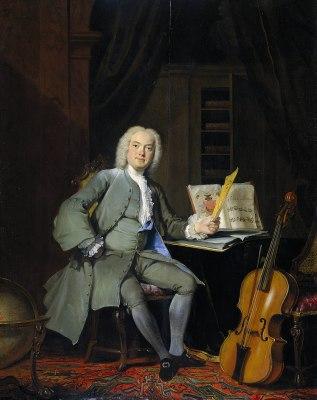 Cornelis Troost - Lid van de familie Van der Mersch