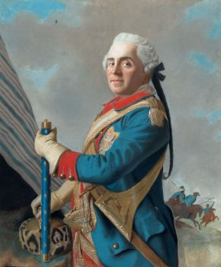 Jean-Étienne Liotard - Portret van graaf Herman Maurits van Saksen