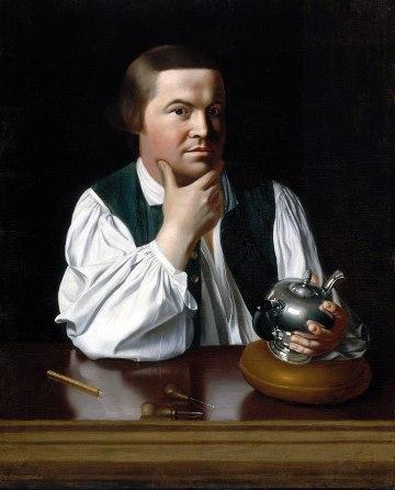 John Singleton Copley - Paul Revere