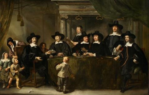 Jürgen Ovens - De regenten van het Burgerweeshuis