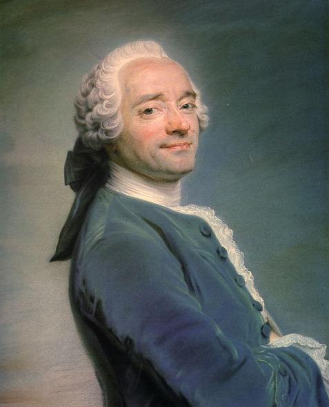 Maurice Quentin de la Tour - Zelfportret