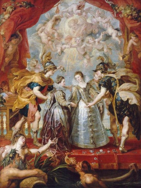 Peter Paul Rubens - de Uitwisseling van de Prinsessen